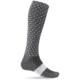 Giro Hightower sukat Merinovilla, charcoal/white dots